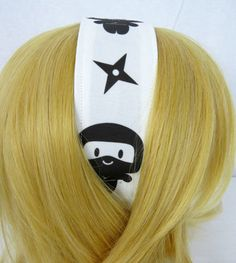 Hey, I found this really awesome Etsy listing at https://www.etsy.com/listing/242437556/ninja-headband