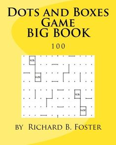 Activity Games, Book Activities, Connect The Dots Game, Dots And Boxes, Barnes And Noble Books, Puzzle Books, The Fosters, Notebooks, The 100