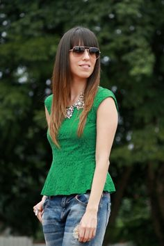 Peplum blouse... -latest post on my blog-