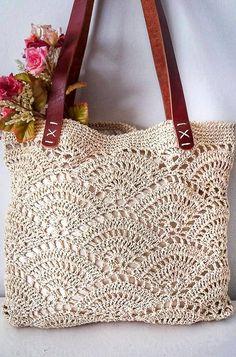Free Crochet Bag, Mode Crochet, Crochet Wool, Crochet Shawl, Crochet Stitches, Crochet Bags, Crochet Bag Tutorials, Crochet Purse Patterns, Crochet Instructions