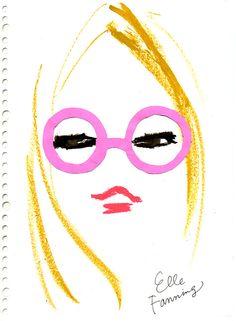 miyuki ohashi drawing Pink The Party Goddess! Marley Majcher ThePartyGoddess.com #adsilike #miyukiohashi #drawing