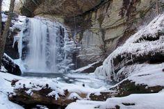 Waterfalls near Asheville NC: Top 60