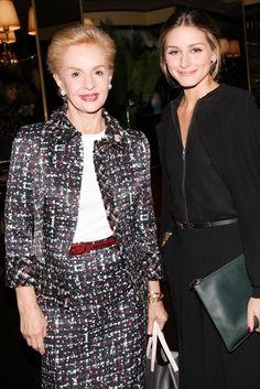 #CarolinaHerrera and #OliviaPalermo, New York City