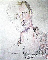 Joyce Sloanim - Guy in Plaid Shirt