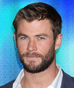 Chris Hemsworth Explains Thor's New Look #refinery29 http://www.refinery29.com/2017/10/176434/chris-hemsworth-thor-short-hair#slide-1