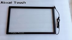 finger touchpanel 40 inch interactive infrared multi touch screen panel Real 10 points IR touch screen frame kit #Affiliate