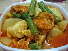 Sumptuous Flavours: Mixed Vegetables Curry 素咖哩