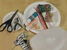 Creative DIY crafts: Paper plate hanging craft with beads and pumpkin s...