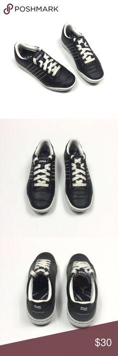 8b8cd2de4a0cf1 Adidas adiCross Junior Golf Shoes 3 Black White In great pre owned  condition Adidas adiCross Junior
