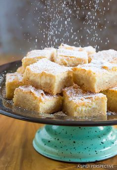 Our Best Gooey Butter Cake Recipe From Scratch (Similar to Chess Squares and Philadelphia Style Cake) #holidays #christmas