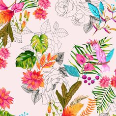 Almofada Estampa Tropical do Studio Biancapozzi por R$60,00