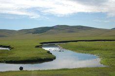 Shot taken in Mongolia #landscape #art #reflection