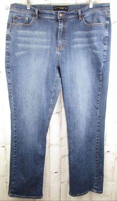 f31e993e7ad Details about Venezia Womens Light Blue Faded Jeans Size 22 Tall 42