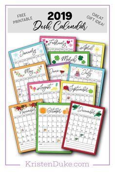 126 Best Calendar 2019 Images 2019 Calendar Happy Planner Print