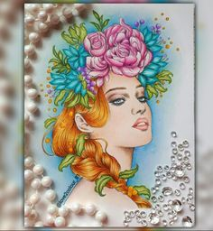 Prima princess watercolour book  Medium: pencils