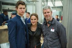 """The pair hanging out with the director: 