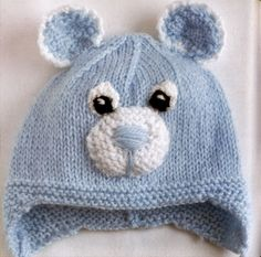 Cutest Ever Baby Knits (Val Pierce) Knitting For Kids, Baby Knitting Patterns, Knitting Projects, Knit Crochet, Crochet Hats, Animal Hats, Little Babies, Tricks, Headbands