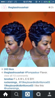 Compliments of @theglasshousehair on Instagram