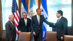 New York Times: July 26, 2014 - Obama presses Central American leaders to slow a wave of child migrants
