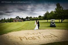 ©slrphotography Golf themed photo shoot by Ruby & Stardust  www.rubyandstardust.co.uk #wedding