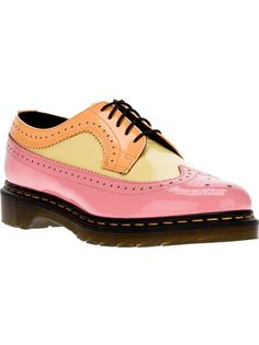10 years ago, these would have been mine. Not my style anymore, but still very cool: DR MARTENS '3989' Patent Brogue Shoe