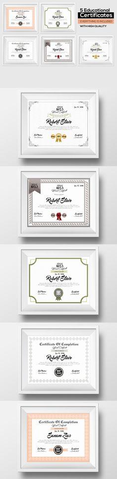 5 Certificate & Diploma Bundle