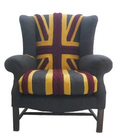 If It's Hip, It's Here: Sit On Knits! Custom Upholstered Sweater Chairs By Melanie Porter.