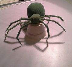 Araña de estereofom 1