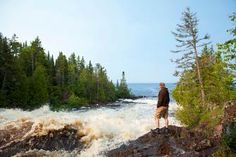 Upper Peninsula Trip Guide | Midwest Living The hike to Montreal Falls near Copper Harbor