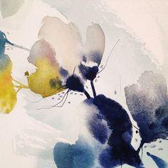New prints & original paintings coming to my shop in July! #watercolor #art #originalart #floral #abstract #surfacedesign #artprint #interiordesign #watercolorarts