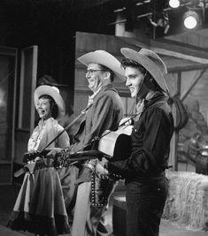 Imogene Coca, Steve Allen & Elvis Presley on The Steve Allen Show
