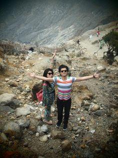 Ratu Crater, Tangkuban Perahu, Bandung Indonesia
