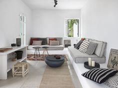 """milosbliss"" is an elegant guest house, built with great affection for the traditional Cycladic minimalist style."