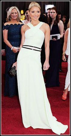 Kelly Ripa 2012 Oscars, Academy Awards #celebrities #celebrityfashion #redcarpet