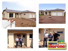 Nous avons réceptionné cette maison vendredi dernier. Toute l'équipe souhaite à nos agréables clients de nombreuses années de Bonheur dans leur nouvelle maison !