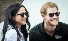 Royal lovebirds smile for fans at the Invictus Games