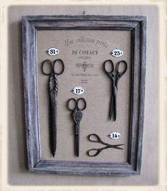 cadre évolutif des objets dans le temps For grandmas scissors?