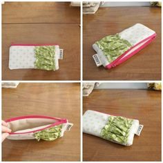 tutorial: how to sew a zippered pouch