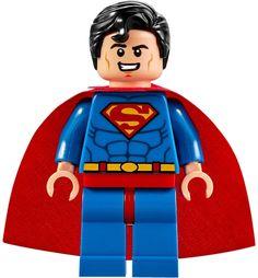 LEGO SUPERMAN MINIFIGURE Batman Vs. Lex Luthor AUTHENTIC NEW 10724 #LEGO
