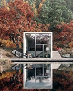 Concrete Lake House House design is continously bringing new ideeas. The post Concrete Lake House appeared first on Baustil. Architecture Design, Amazing Architecture, Building Architecture, Minimal Architecture, Architecture Diagrams, Architecture Portfolio, Concept Architecture, Gothic Architecture, Design Exterior
