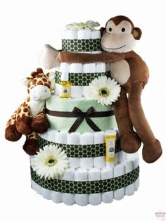 Cute diaper cake idea! Ridiculous price though. I can make these if anyone ever needs one!