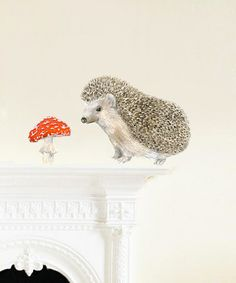 Take a look at this Hedgehog Mini by Ko-Ko-Ko by chocovenyl on #zulily today!