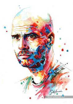 Nazar Stefanovic Art — Pep Guardiola (FC Bayern Munich)