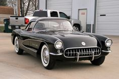 Cool Awesome 1957 Chevrolet Corvette FUEL INJECTION EXTREMELY RARE 1957 CORVETTE FUELIE 1 OF 102 BUILT ONYX BLACK ON RED PW 2018