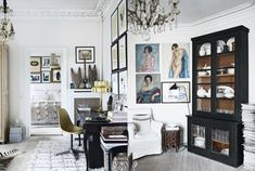 A stunning home of Rupert Peter Landendinger, who has worked for By Malene Birger for the past nine years. Love the mix of ethnic, nordic, modern, vintage and all held in black, white and natural.