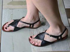 summer sandals - black