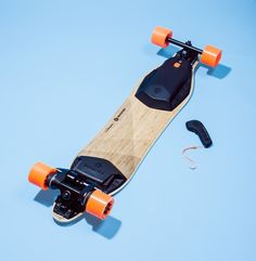 Boosted's Electric Skateboard. | WIRED  Simultaneously fun and terrifying.  Would you try one?