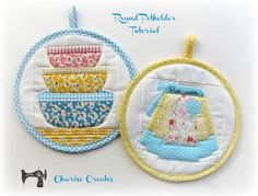 Round Potholders   by Charise *