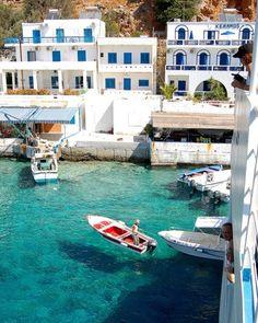 Loutro, Isle of Crete, Greece  photo via bon  Crete us an amazing island. Great honey, too.