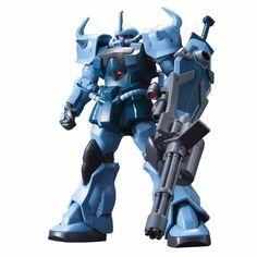 Mobile suit Gundam 08 MS Team HGUC : MS-07B3 Gouf Custom